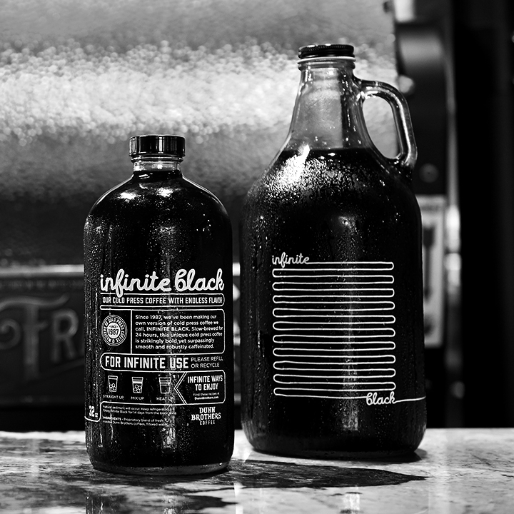 Dunn Brothers Coffee Infinite Black Cold Press Coffee Growler