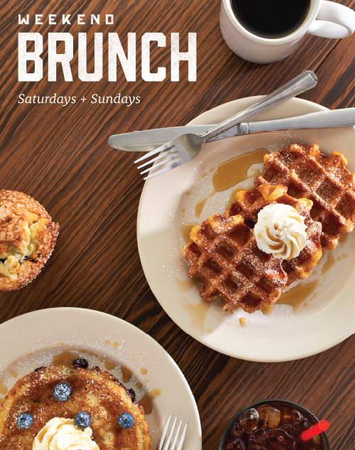 Dunn Brothers Coffee Weekend Brunch Poster