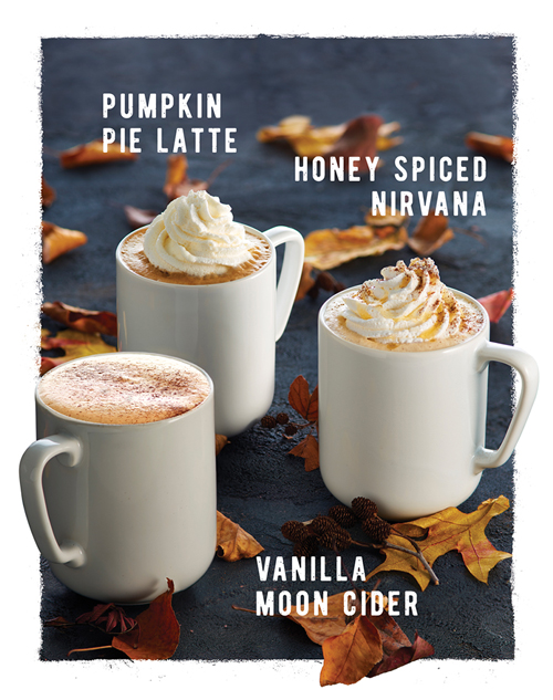 Dunn Brothers Coffee Fall Signature Beverages