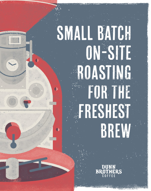 Small Batch On-Site Roasting For the Freshest Brew