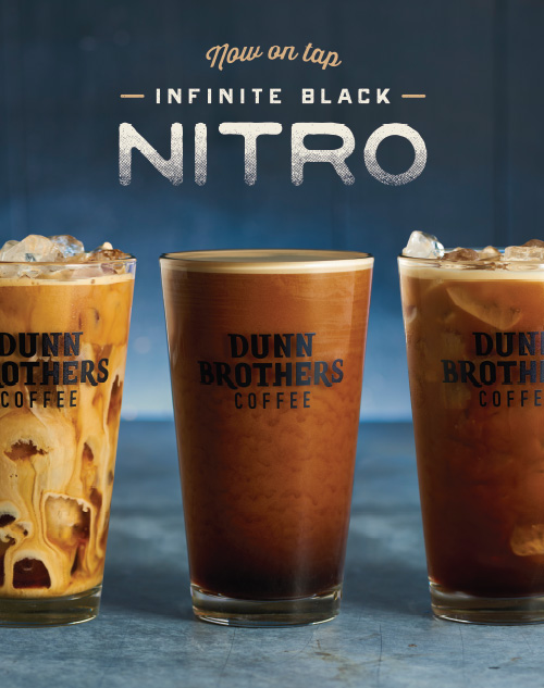 Dunn Brothers Coffee Infinite Black Nitro Poster