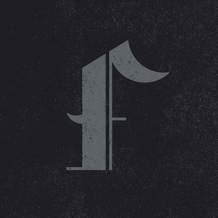 Graphic Design Typography of the Letter F