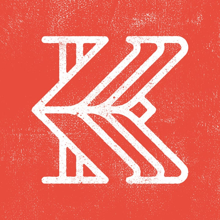 graphic letter K