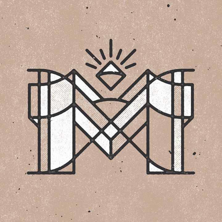 graphic letter M