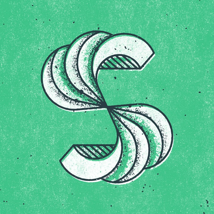 graphic letter S