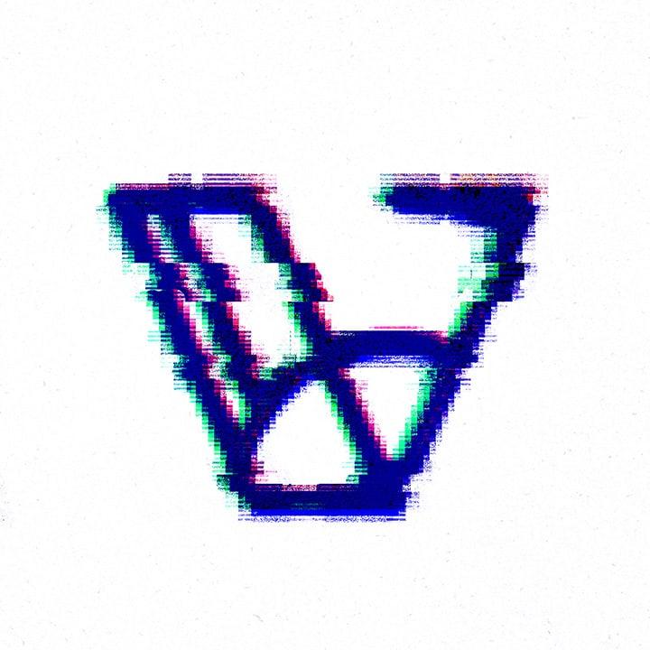 graphic letter V