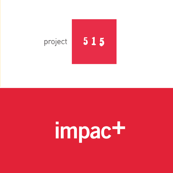 Project 515 and Impact Logos