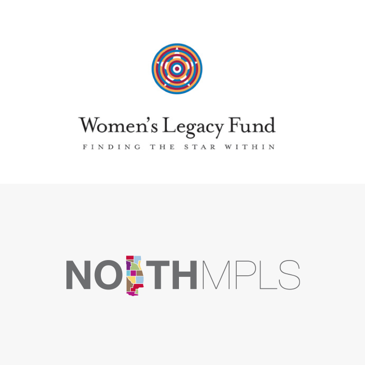 Women's Legacy Fund and North Minneapolis Logos