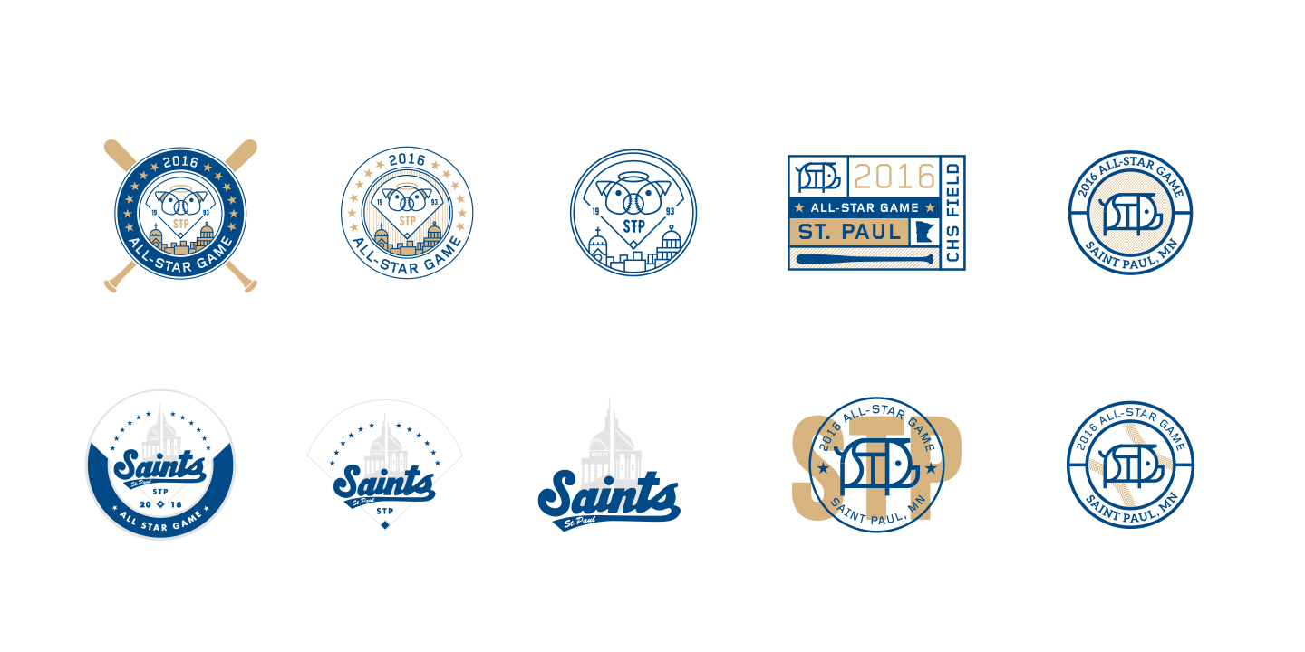St. Paul Saints Alternate Identity Initial Concepts