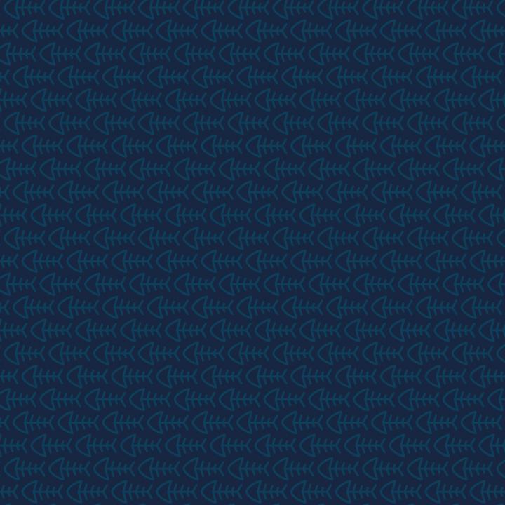 FIGO Pet Insurance Fish Pattern Graphic