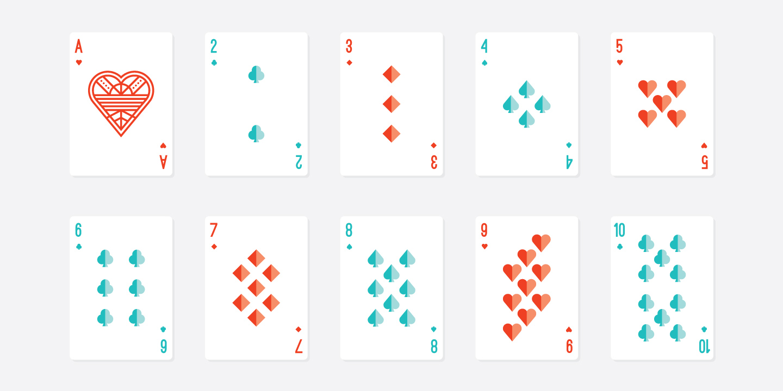 IMAGEHAUS Sweet Sixteen Playing Card Design