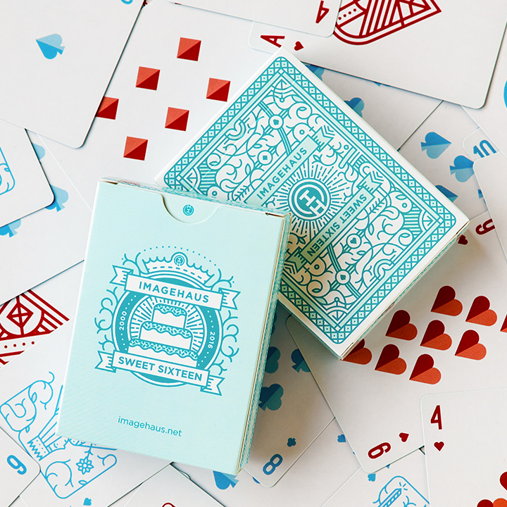 IH Playing Cards and Box